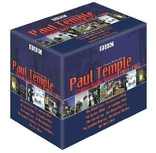 book cover of Paul Temple, Classic Radio Serials 1954-1968