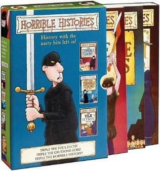 book cover of Horrible Histories Slipcase 1