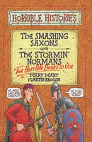 book cover of Smashing Saxons / Stormin\' Normans