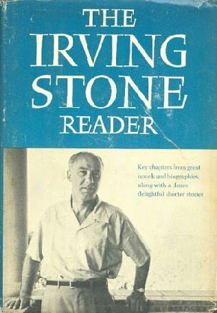book cover of The Irving Stone Reader