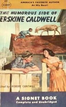 book cover of Humorous Side of Erskine Caldwell