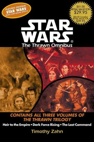 book cover of Star Wars : Thrawn Omnibus