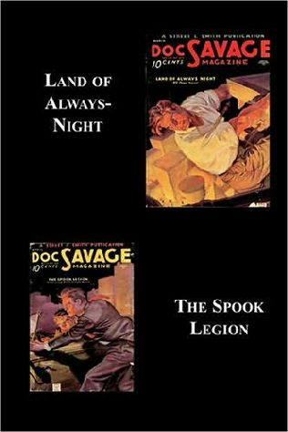 book cover of Land of Always-Night / The Spook Legion