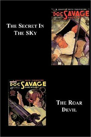 book cover of The Secret in the Sky  / The Roar Devil