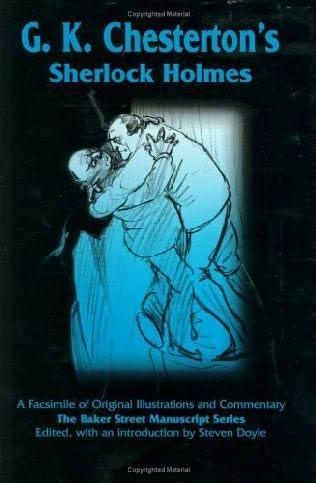 book cover of G.K. Chesterton\'s Sherlock Holmes