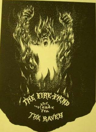 book cover of The Fire-Fiend and the Raven / The Story Behind a Literary Hoax