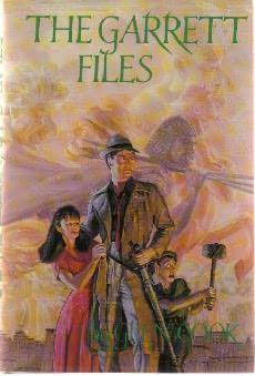 book cover of The Garrett Files