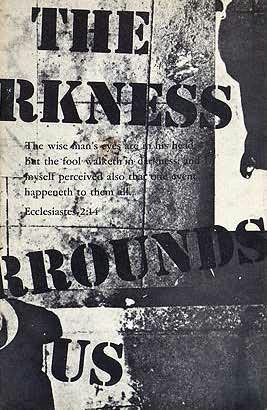 book cover of The Darkness Surrounds Us