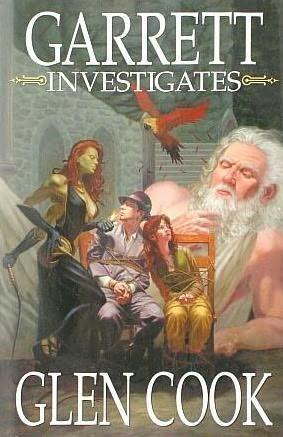 book cover of Garrett Investigates