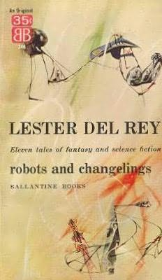 book cover of Robots and Changelings