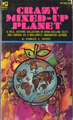 book cover of Crazy Mixed-Up Planet