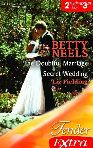 book cover of The Doubtful Marriage / Secret Wedding