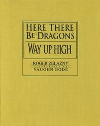 book cover of Here There Be Dragons / Way up High