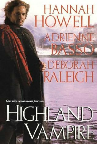 book cover of Highland Vampire