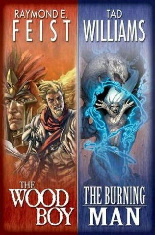 book cover of The Wood Boy / The Burning Man