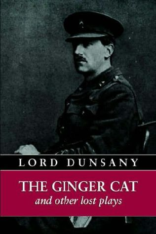 book cover of The Ginger Cat and Other Lost Plays