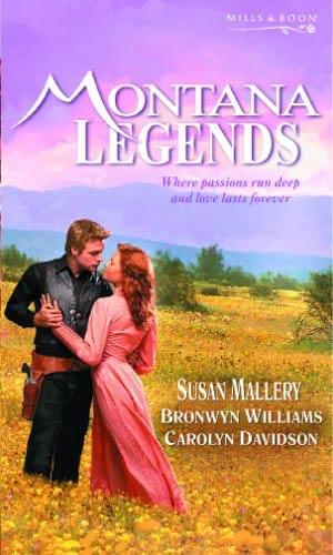 book cover of Montana Legends
