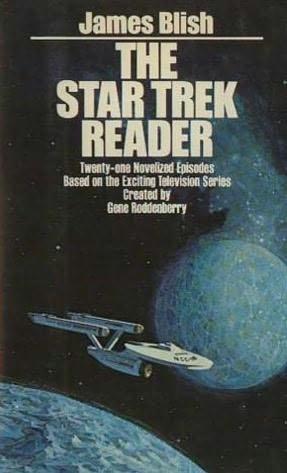 book cover of The Star Trek Reader I
