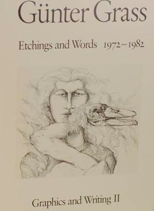 book cover of Etchings and Words, 1972-1982