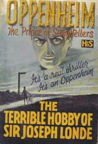 book cover of The Terrible Hobby of Sir Joseph Londe