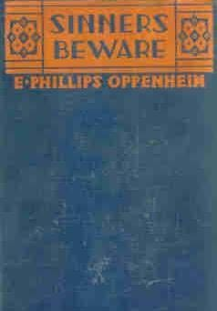 book cover of Sinners Beware