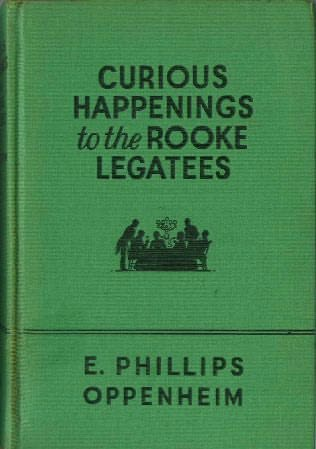 book cover of Curious Happenings to the Rooke Legatees