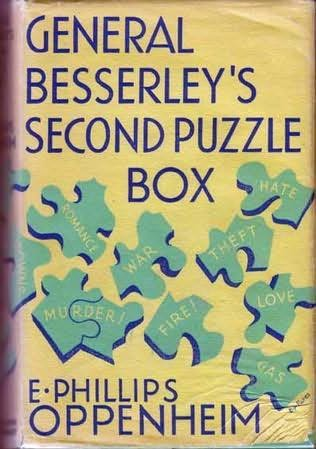 book cover of General Besserley\'s Second Puzzle Box