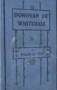 book cover of Donovan of Whitehall