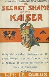 book cover of The Secret Shame of the Kaiser