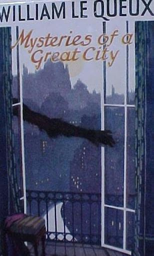 book cover of Mysteries of a Great City