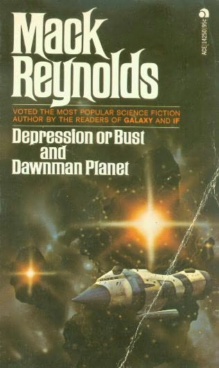 book cover of Depression or Bust / Dawnman Planet