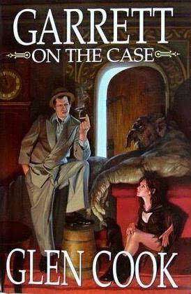 book cover of Garrett on the Case