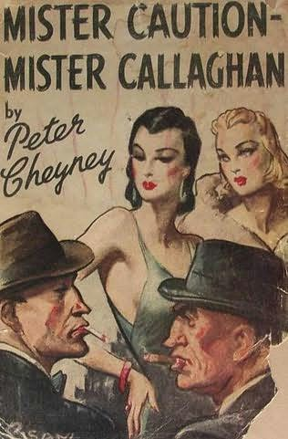 book cover of Mister Caution, Mister Callaghan