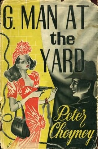 book cover of G Man At the Yard