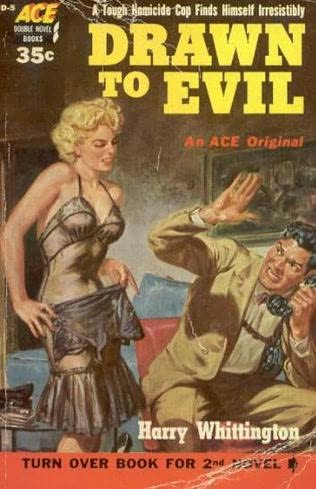 book cover of Drawn to Evil / The Scarlet Spade