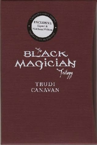 book cover of The Black Magician Trilogy