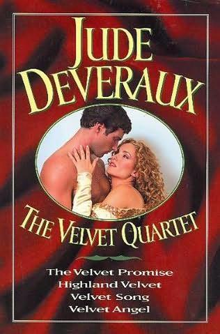 book cover of The Velvet Quartet