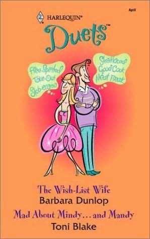 book cover of The Wish-List Wife / Mad about Mindy ... and Mandy
