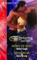 book cover of Estate Affair / Awaken the Senses