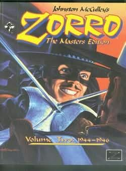 book cover of Zorro: The Masters Edition,  1944-1946