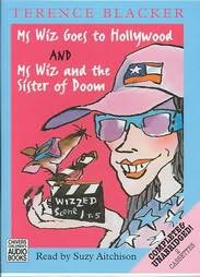 book cover of Ms Wiz Goes to Hollywood / Ms Wiz and the Sister of Doom