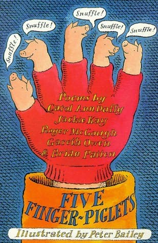 book cover of Five Finger-piglets