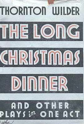 book cover of The Long Christmas Dinner