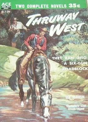 book cover of Thruway West / The Naked Range