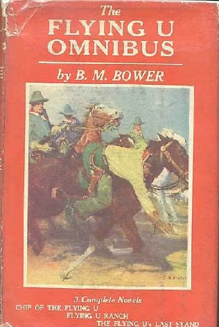 book cover of B.M. Bower\'s Flying U Omnibus
