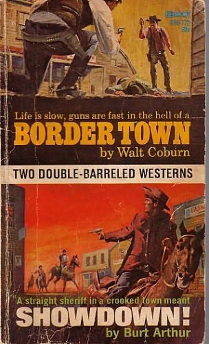 book cover of Border Town / Showdown!