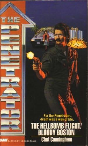 book cover of Hellbomb Flight / Bloody Boston