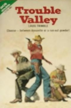 book cover of Cougar Basin War / Trouble Valley