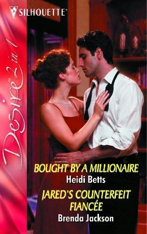 book cover of Bought By a Millionaire  / Jared\'s Counterfeit Fiancee