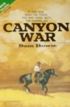 book cover of Canyon War / Hooded Gun